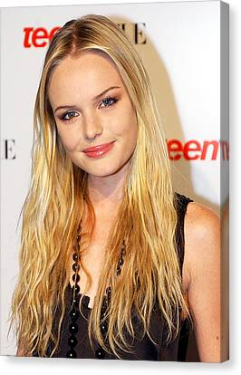 Kate Bosworth At The Teen Vogue Young Canvas Print