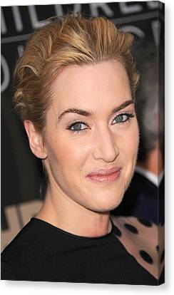 Kate Winslet At Arrivals For Mildred Canvas Print