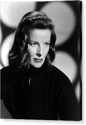 Katharine Hepburn, Ca. 1940s Canvas Print by Everett