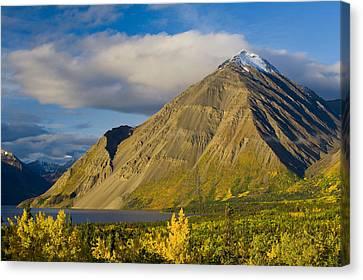 Kathleen Lake, Kluane National Park Canvas Print by John Sylvester