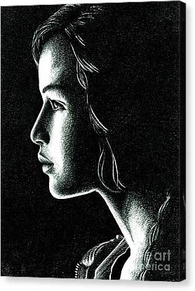 Katniss Everdeen Canvas Print