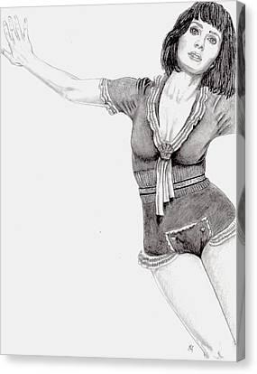 Katy Perry Canvas Print by Blake Grigorian