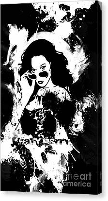 Katy Perry Canvas Print by The DigArtisT