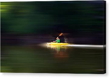 Kayak Ks Canvas Print