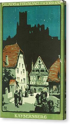 Kaysersberg Alsace Canvas Print
