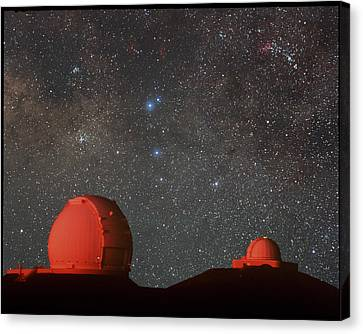Keck Telescope Canvas Print - Keck & Irtf Telescopes by Magrath Photographynielsen