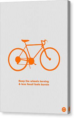Keep The Wheels Turning Canvas Print