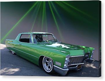 Canvas Print featuring the photograph Kelly Caddy by Bill Dutting