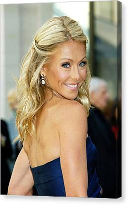 Metropolitan Opera House At Lincoln Center Canvas Print - Kelly Ripa  At Arrivals For American by Everett