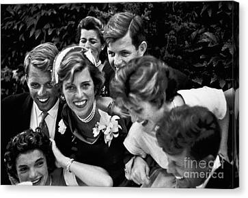 Kennedy Wedding, 1953 Canvas Print by Granger