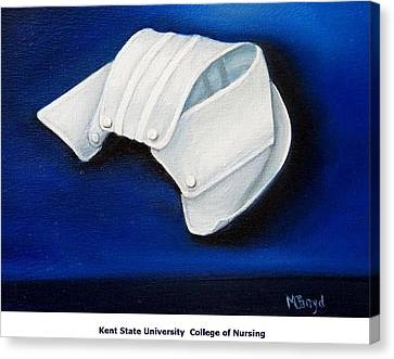 Kent State University College Of Nursing Canvas Print