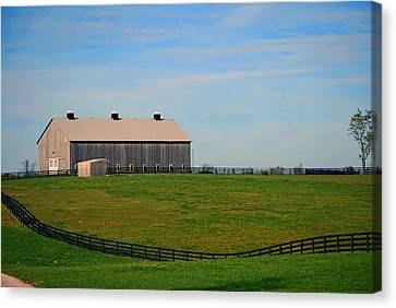 Kentucky Barn Canvas Print by Amee Cave