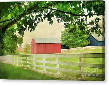 Kentucky Country Side Canvas Print by Darren Fisher
