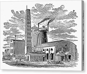 Kentucky: Factory, 1876 Canvas Print by Granger