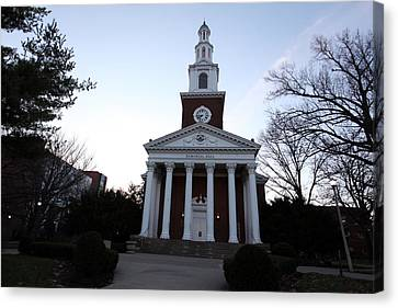 Memorial Hall Canvas Print - Kentucky Memorial Hall by Replay Photos