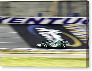Kentucky Speedway Irl Canvas Print by Keith Allen
