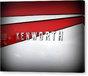 Kenworth Truck Logo Canvas Print