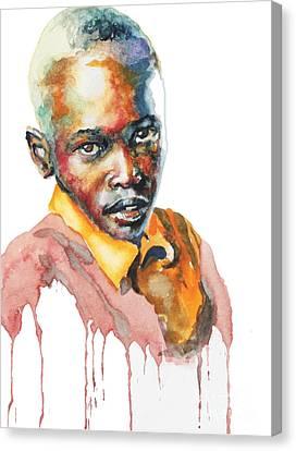 Kenya Blue Canvas Print