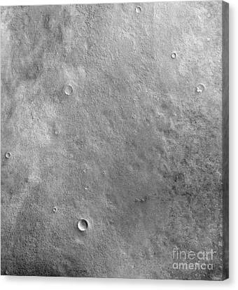 Kepler Crater On The Surface Of Mars Canvas Print by Stocktrek Images