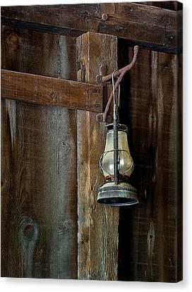 Kerosene Lantern Canvas Print
