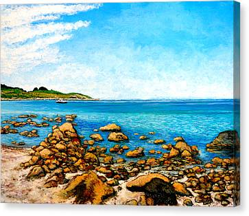 Kettle Cove Canvas Print by Tom Roderick