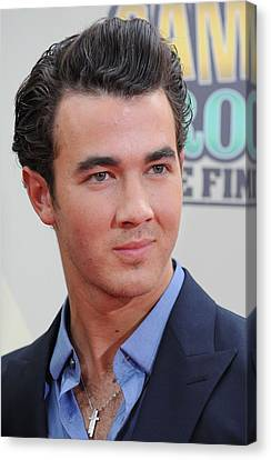 Kevin Jonas At Arrivals For Camp Rock 2 Canvas Print