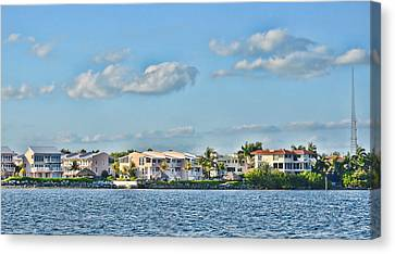 Key Largo Houses Canvas Print by Chris Thaxter