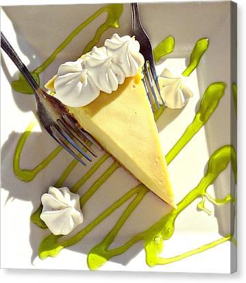 Key Lime Pie Canvas Print