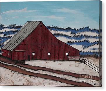 Keystone Farm Canvas Print by Jeffrey Koss