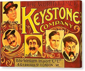 Keystone Film Company, Promotional Canvas Print by Everett