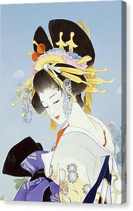 Kiku Canvas Print