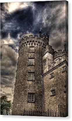 Kilkenny Castle Canvas Print by Barry R Jones Jr