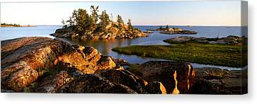 Killarney Provincial Park Canvas Print by Ron Watts