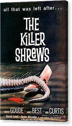 Killer Shrews, The, 1959 Canvas Print by Everett