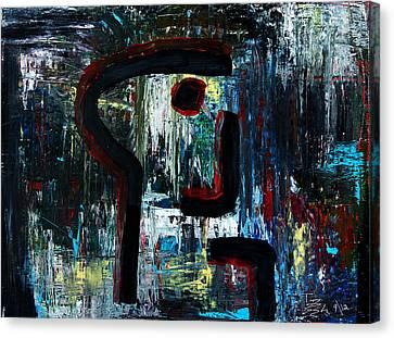 Killer Canvas Print by Terrance Prysiazniuk