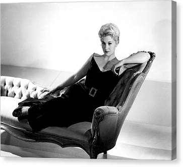 Kim Novak, Columbia Pictures, 1950s Canvas Print by Everett