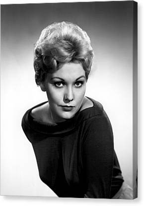 1950s Fashion Canvas Print - Kim Novak, Columbia Pictures, 1956 by Everett