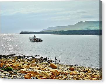 Canvas Print featuring the photograph Kimmeridge 1 by Katy Mei