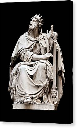 Statue Of David Canvas Print - King David by Fabrizio Troiani