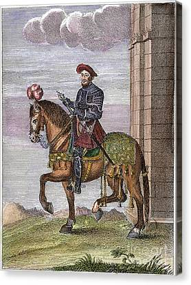 King Francis I (1494-1547) Canvas Print by Granger