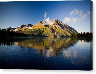 Kings Throne Mountain And Kathleen Canvas Print by John Sylvester