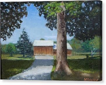 Kingsbury Farm Canvas Print by Mark Haley