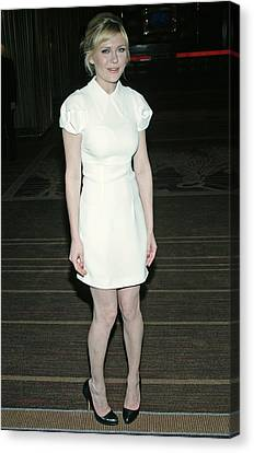Coldplay Canvas Print - Kirsten Dunst Wearing A Miu Miu Dress by Everett