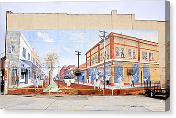 Kissimmee Street Mural Canvas Print by David Lee Thompson