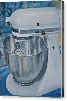 Kitchen Mixer Canvas Print by Terry Forrest