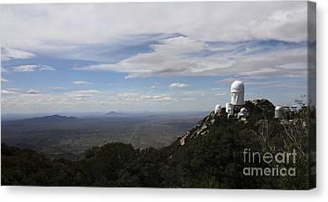 Kitt Peak Observatory Domes Canvas Print by Phillip Jones