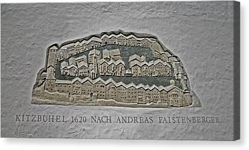 Kitzbuehel Anno 1620 Canvas Print by Juergen Weiss