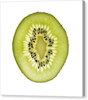 Kiwi Slice Canvas Print by Mark Sykes