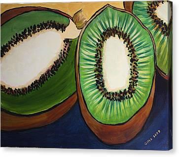 Kiwis Canvas Print