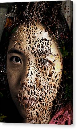 Knit Together Canvas Print by Christopher Gaston